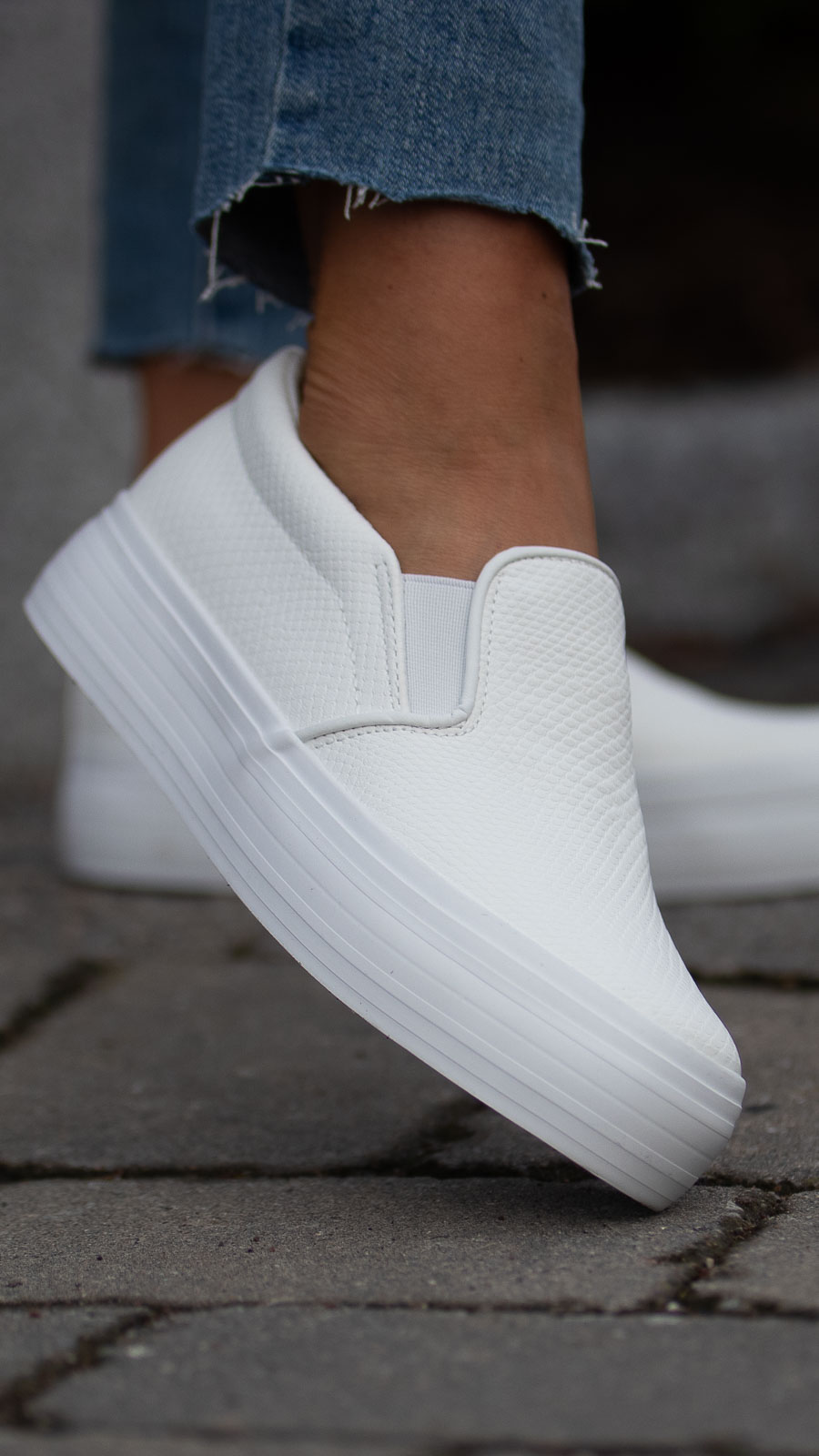White Step In sneakers  Roberto Rosso  Sneakers - Sko Til Dame